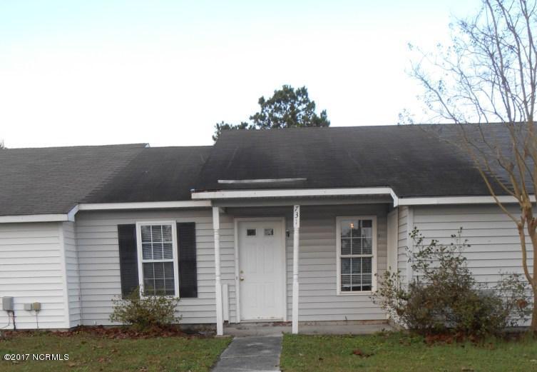 731 Pinewood Drive, Jacksonville, NC 28546 (MLS #80116832) :: Century 21 Sweyer & Associates