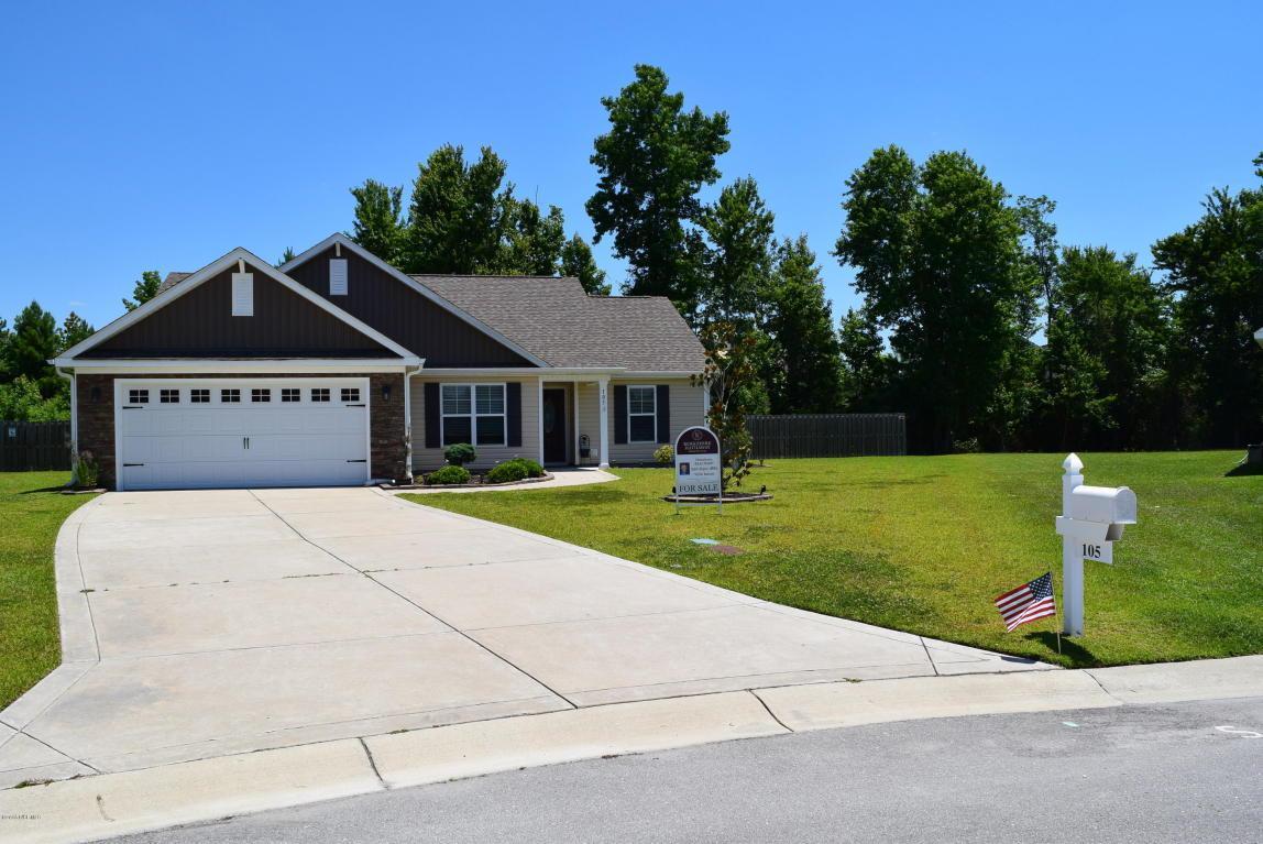 105 Dahlia Lane, Jacksonville, NC 28546 (MLS #80175497) :: Century 21 Sweyer & Associates
