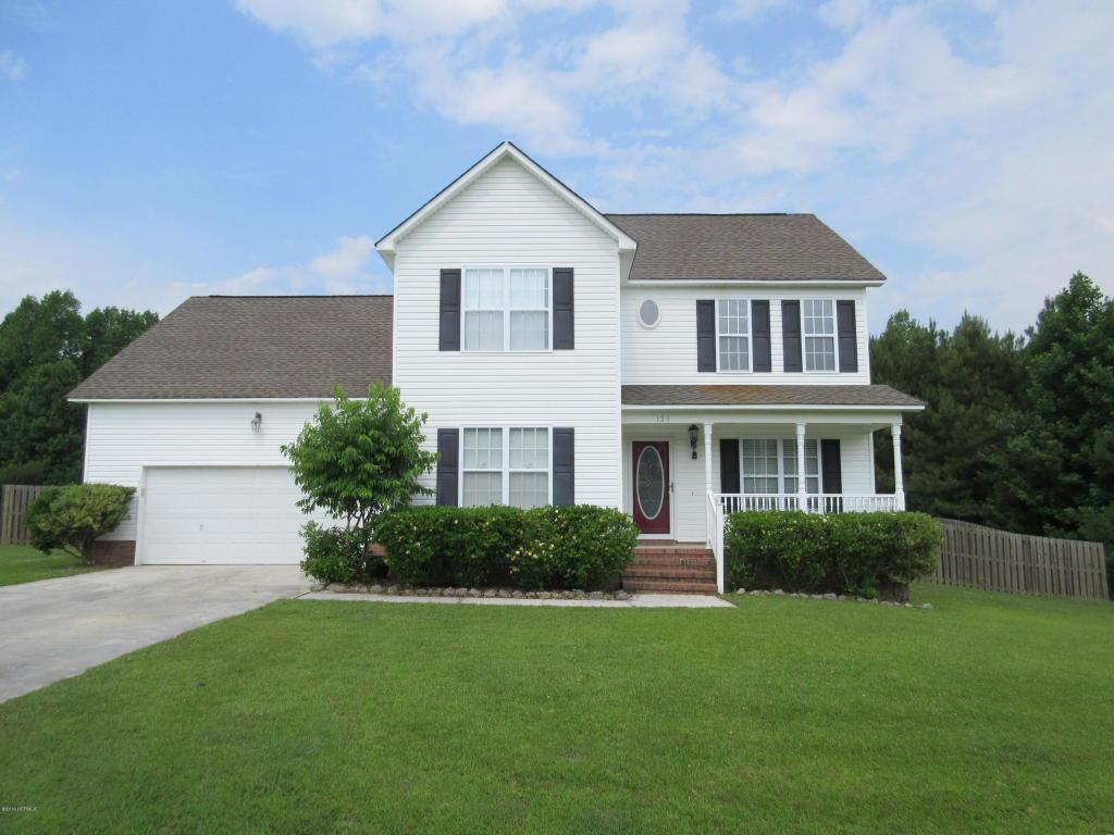 129 Mendover Drive, Jacksonville, NC 28546 (MLS #80177404) :: Century 21 Sweyer & Associates