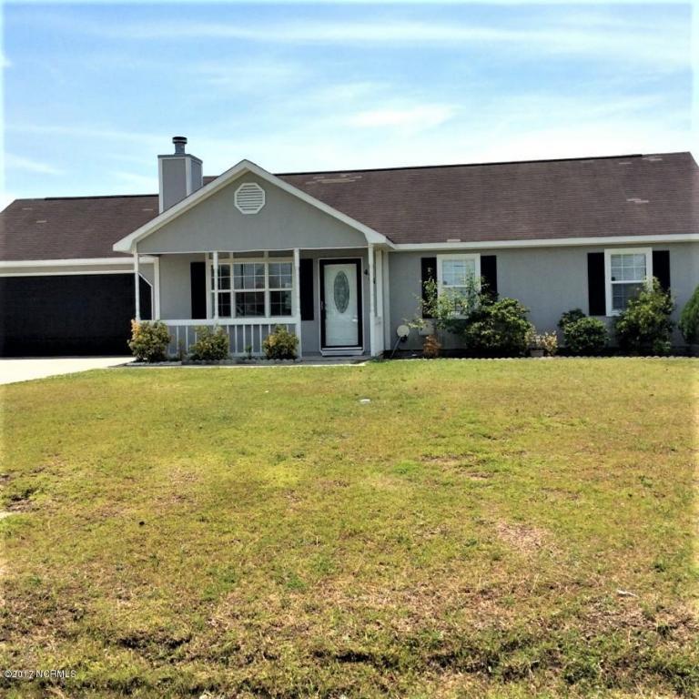431 Dion Drive, Hubert, NC 28539 (MLS #80177433) :: Century 21 Sweyer & Associates