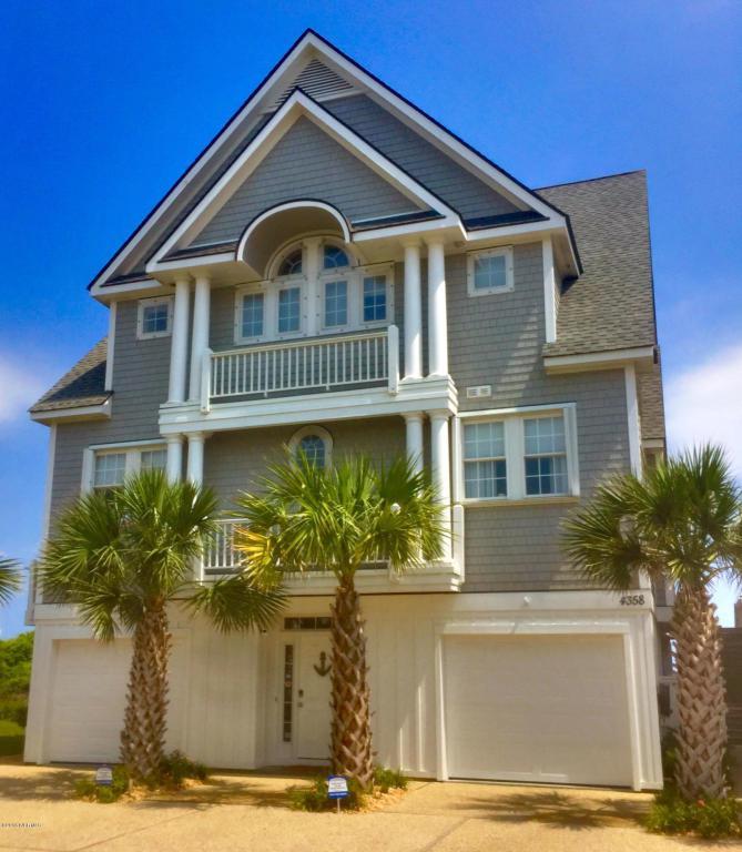 4358 Island Drive, North Topsail Beach, NC 28460 (MLS #100003518) :: Century 21 Sweyer & Associates
