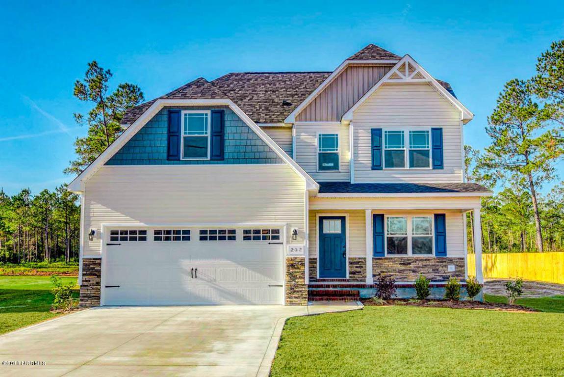 207 Zonnie Lane, Jacksonville, NC 28540 (MLS #100013154) :: Century 21 Sweyer & Associates