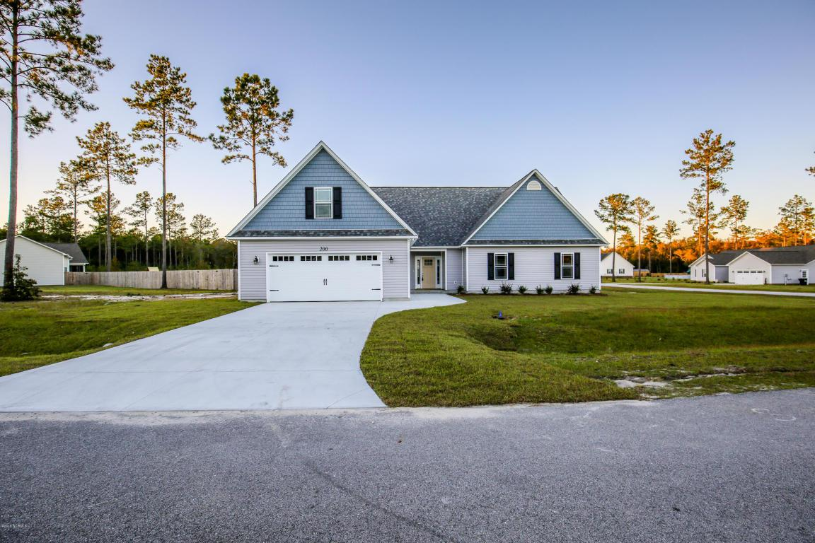 200 Pineflat Way Lot #11, Hubert, NC 28539 (MLS #100016175) :: Century 21 Sweyer & Associates
