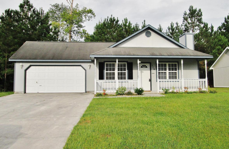 116 Foxlair Drive, Hubert, NC 28539 (MLS #100019216) :: Century 21 Sweyer & Associates