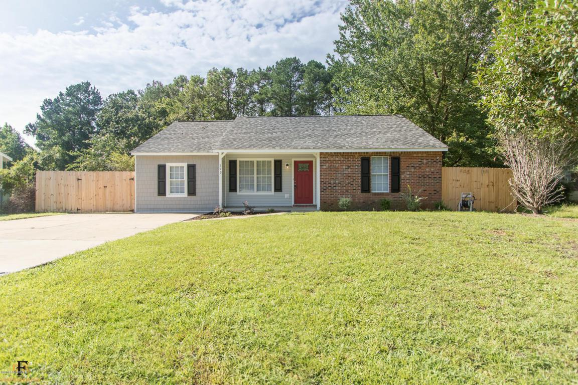 119 Hampton Court, Jacksonville, NC 28546 (MLS #100022984) :: Century 21 Sweyer & Associates