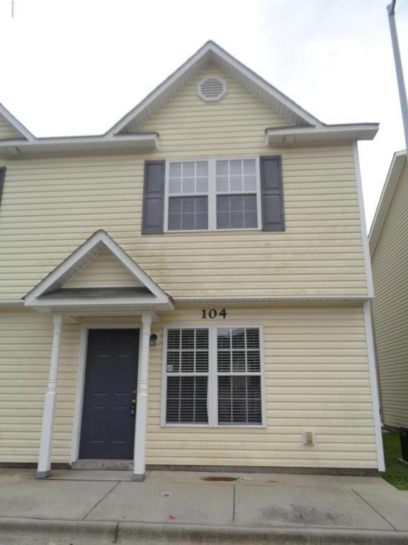 104 Cornerstone Place, Jacksonville, NC 28546 (MLS #100025850) :: Century 21 Sweyer & Associates