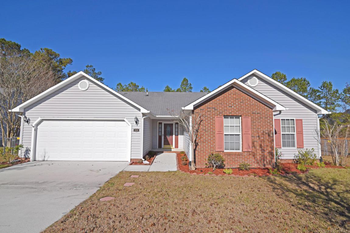 118 Carolina Pines Drive, Jacksonville, NC 28546 (MLS #100027099) :: Century 21 Sweyer & Associates