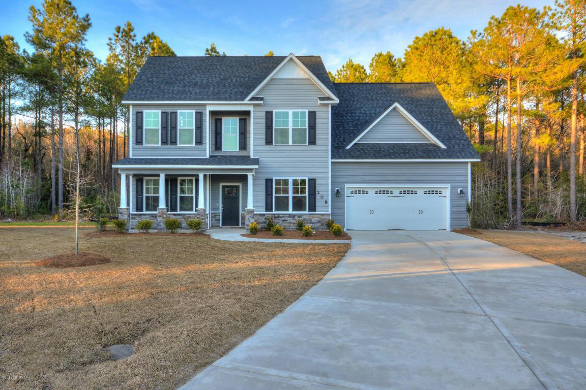 208 Seneca Court, Holly Ridge, NC 28445 (MLS #100028011) :: Century 21 Sweyer & Associates