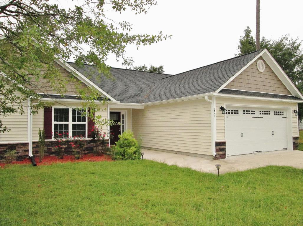 221 Marsh Haven Drive, Sneads Ferry, NC 28460 (MLS #100028347) :: Century 21 Sweyer & Associates