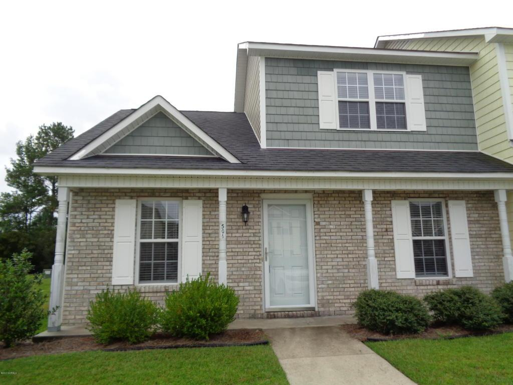 506 Streamwood Drive, Jacksonville, NC 28546 (MLS #100028456) :: Century 21 Sweyer & Associates