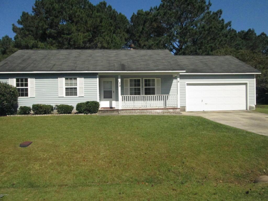 120 Sweetwater Drive, Jacksonville, NC 28540 (MLS #100028530) :: Century 21 Sweyer & Associates