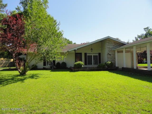 403 Estate Drive, Jacksonville, NC 28540 (MLS #100049382) :: Century 21 Sweyer & Associates