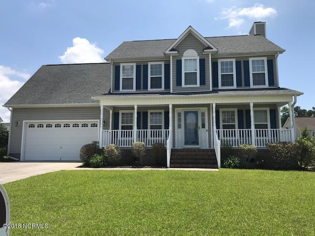 110 Runnymeade Drive, Jacksonville, NC 28540 (MLS #100111830) :: RE/MAX Elite Realty Group