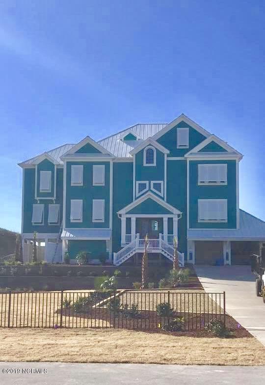 7607 Ocean Drive, Emerald Isle, NC 28594 (MLS #100127108) :: Courtney Carter Homes