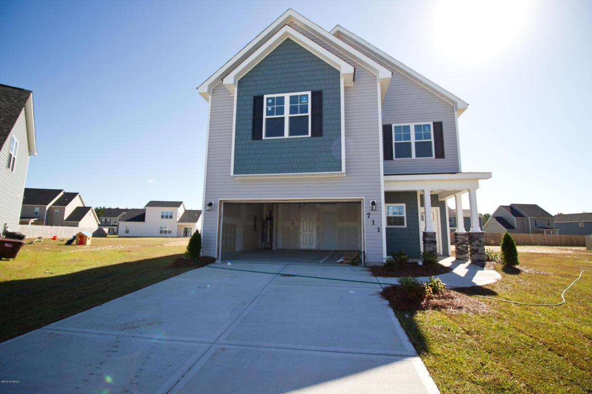 711 Dexter Court, Jacksonville, NC 28546 (MLS #80172677) :: Century 21 Sweyer & Associates