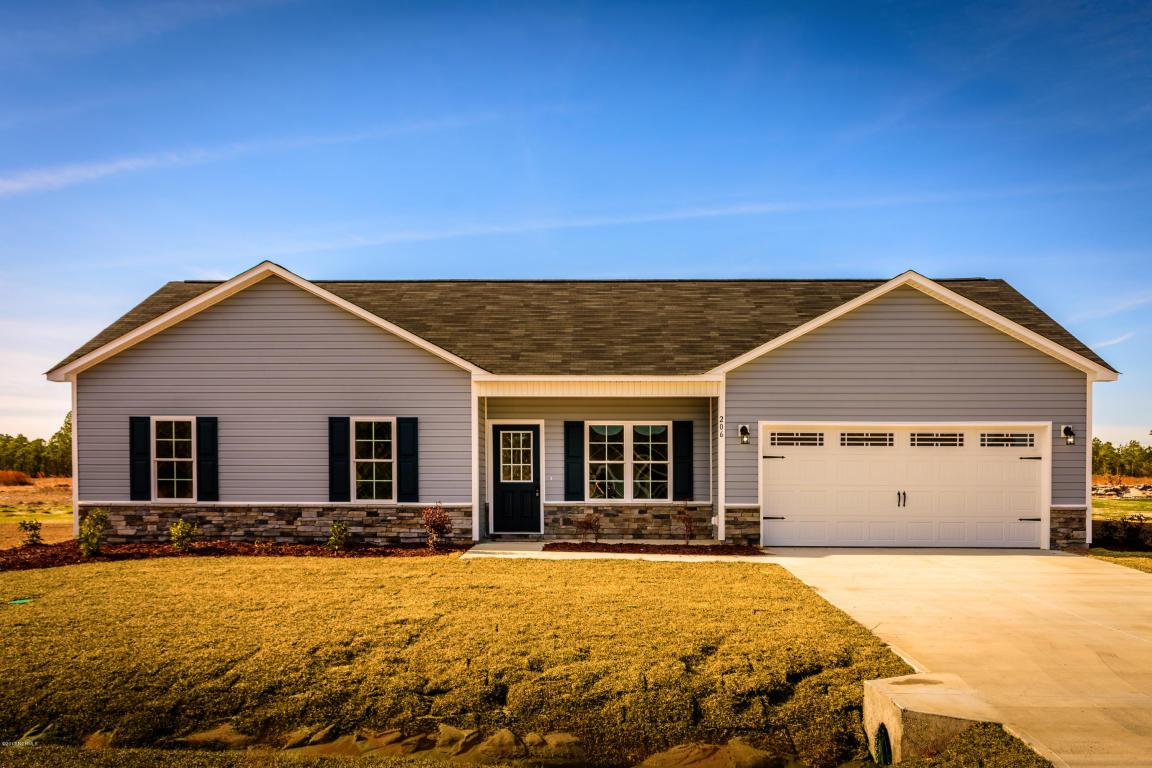 206 Chestwood Drive, Hubert, NC 28539 (MLS #80176382) :: Century 21 Sweyer & Associates
