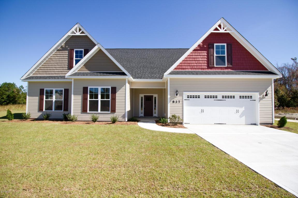 827 Tuscarora Trail, Jacksonville, NC 28546 (MLS #80177549) :: Century 21 Sweyer & Associates