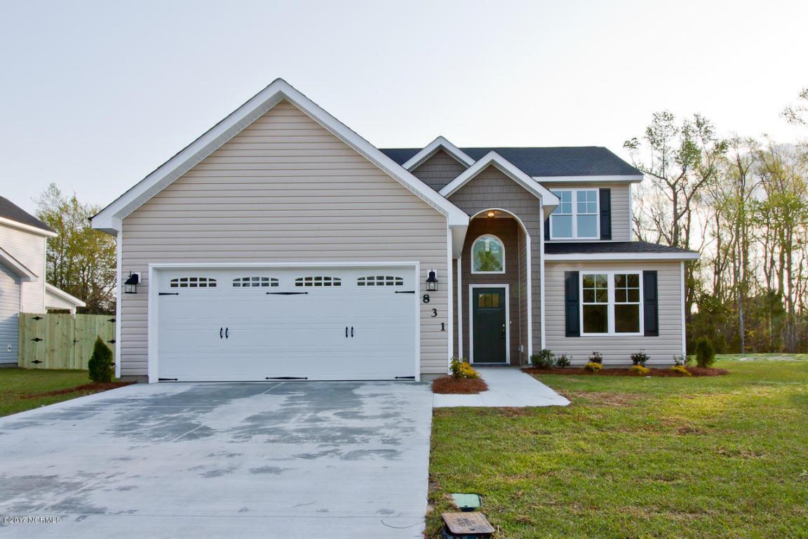 831 Tuscarora Trail, Jacksonville, NC 28546 (MLS #100023266) :: Century 21 Sweyer & Associates