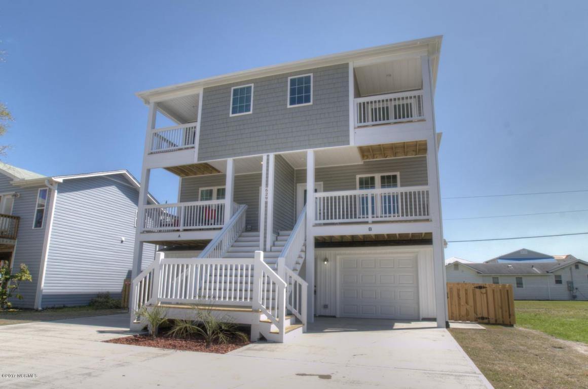 629 S 4th Avenue S B, Kure Beach, NC 28449 (MLS #100025558) :: Century 21 Sweyer & Associates