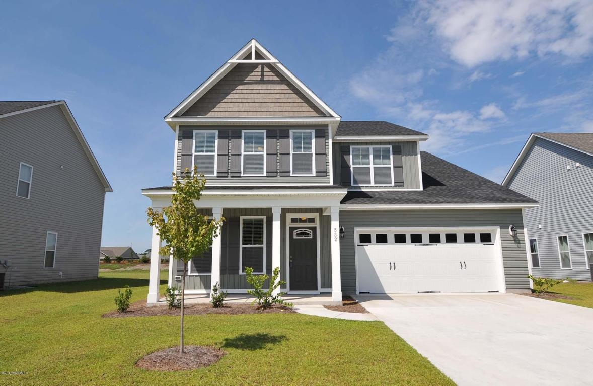 582 Heartwood Drive, Winnabow, NC 28479 (MLS #30528872) :: Century 21 Sweyer & Associates