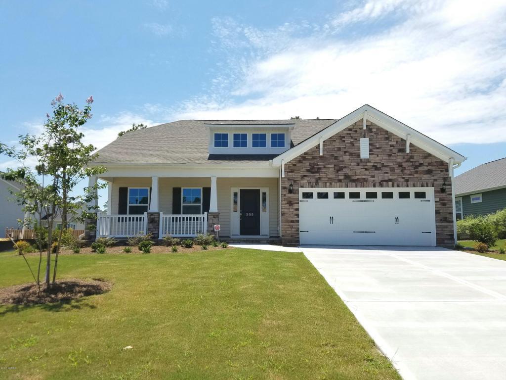 209 W Azalea Drive, Holly Ridge, NC 28445 (MLS #30531498) :: Century 21 Sweyer & Associates