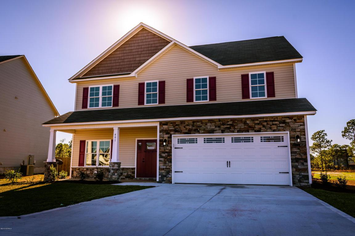 401 Inverness Drive, Hubert, NC 28539 (MLS #80173416) :: Century 21 Sweyer & Associates
