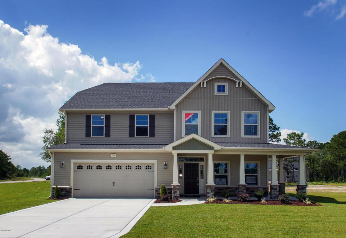322 Red Cedar Drive #45, Sneads Ferry, NC 28460 (MLS #80176942) :: Century 21 Sweyer & Associates