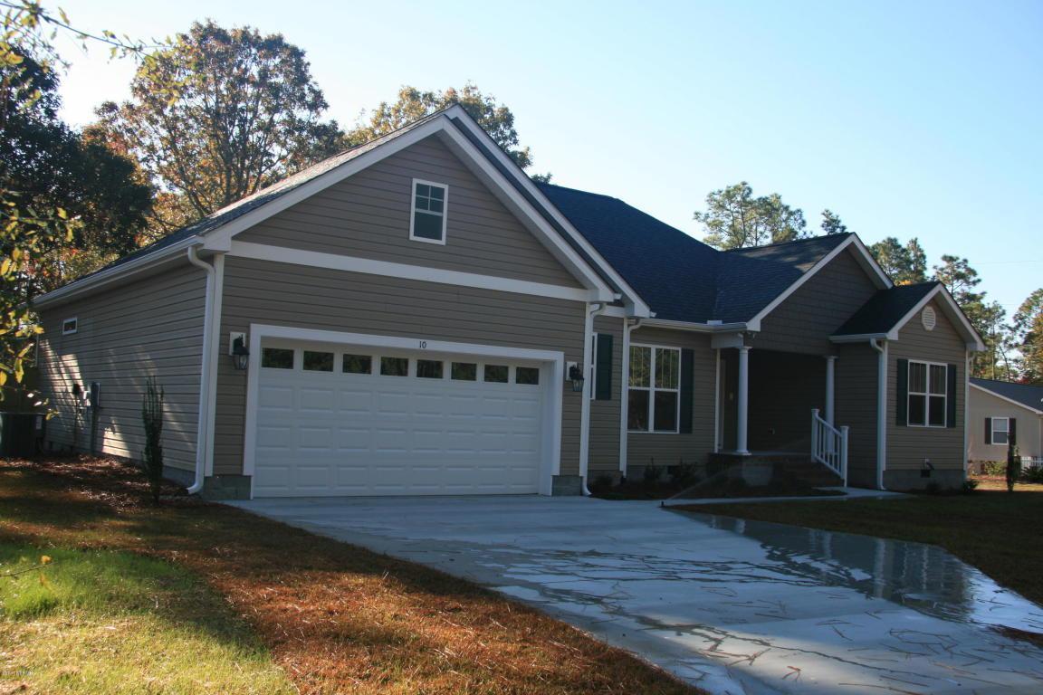 10 Glenwood Drive, Southport, NC 28461 (MLS #100009612) :: Century 21 Sweyer & Associates