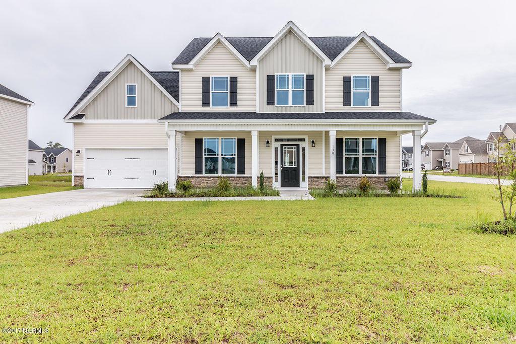 130 Saw Grass Drive, Jacksonville, NC 28540 (MLS #100024628) :: Century 21 Sweyer & Associates