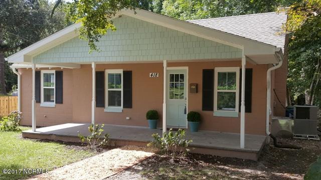 418 Mercer Avenue, Wilmington, NC 28403 (MLS #100078433) :: Century 21 Sweyer & Associates