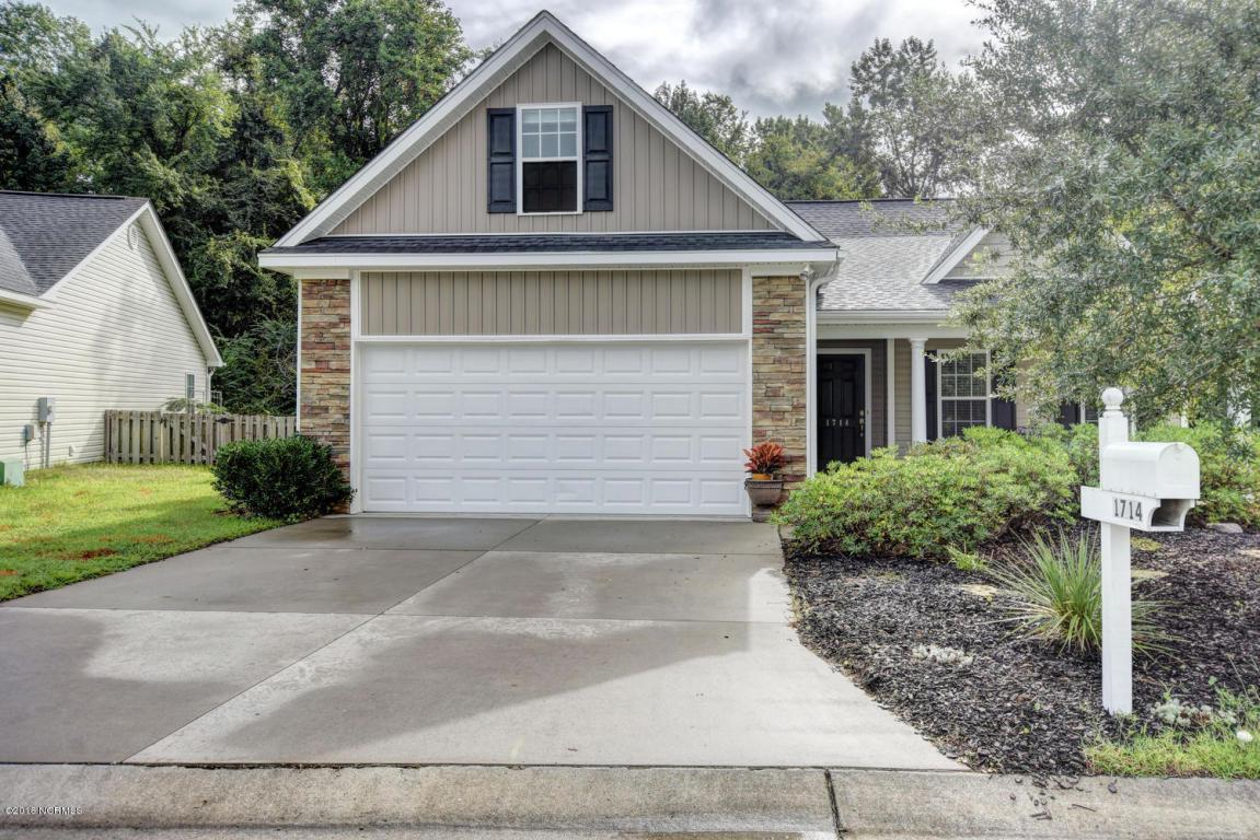 1714 Heatherstone Lane, Wilmington, NC 28405 (MLS #100030302) :: Century 21 Sweyer & Associates