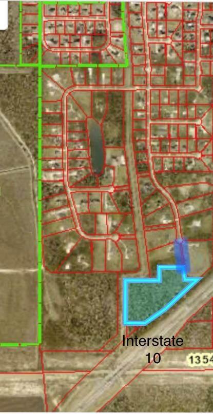 9.4 AC W Interstate 10 West, Fannett, TX 77705 (MLS #81841) :: Triangle Real Estate