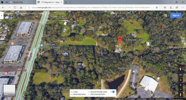 1716 Bayview Ln, Middleburg, FL 32068 (MLS #1000000) :: The Hanley Home Team