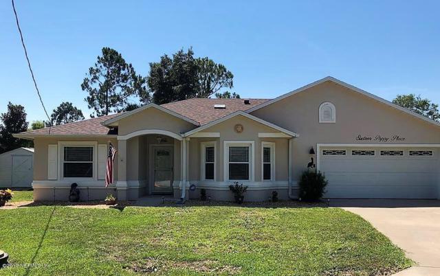 16 Poppy Pl, Palm Coast, FL 32164 (MLS #1003792) :: eXp Realty LLC | Kathleen Floryan