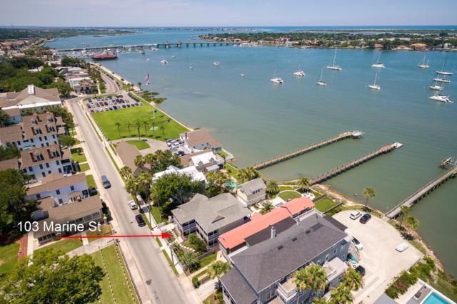 103 Marine St, St Augustine, FL 32084 (MLS #1005568) :: eXp Realty LLC | Kathleen Floryan