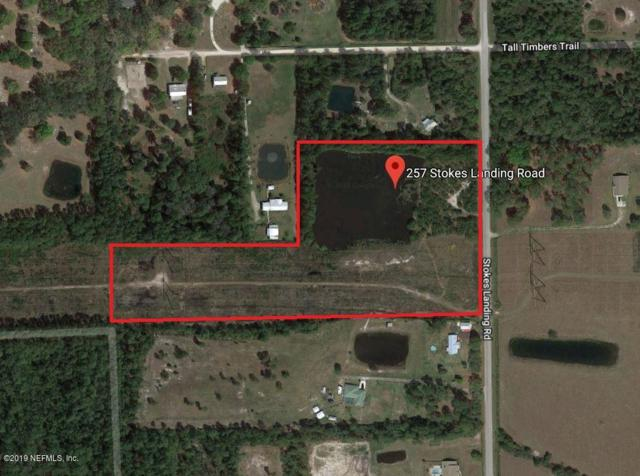 257 Stokes Landing Rd, Palatka, FL 32177 (MLS #1009599) :: Berkshire Hathaway HomeServices Chaplin Williams Realty