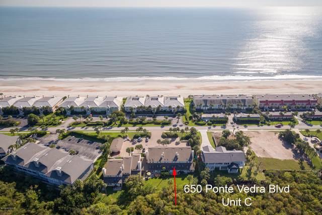 650 Ponte Vedra Blvd C, Ponte Vedra Beach, FL 32082 (MLS #1014339) :: The Hanley Home Team