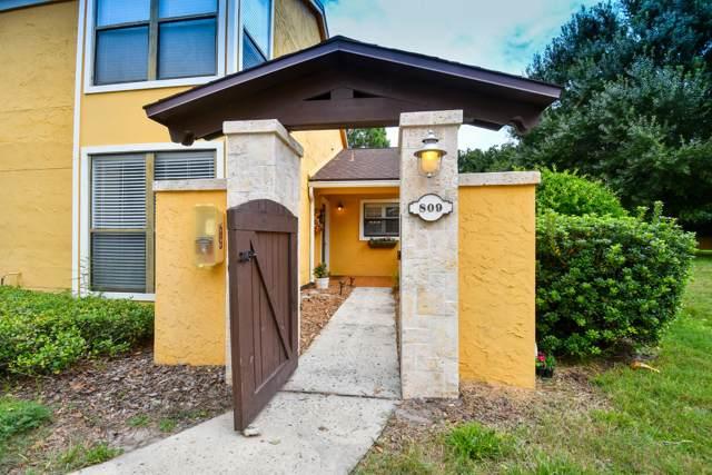 809 Sandpiper Ln, Ponte Vedra Beach, FL 32082 (MLS #1015623) :: The Hanley Home Team