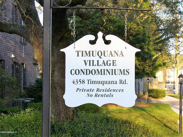 4358 Timuquana Rd #105, Jacksonville, FL 32210 (MLS #1018491) :: Noah Bailey Group