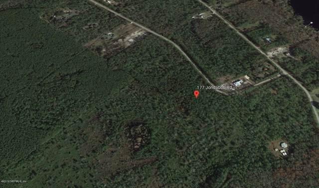 177 Jondabob Rd, Palatka, FL 32177 (MLS #1018605) :: CrossView Realty