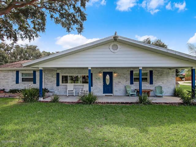 415A Fourteenth St, St Augustine, FL 32084 (MLS #1020433) :: CrossView Realty