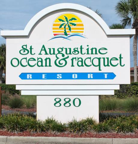 880 A1a Beach Blvd #2306, St Augustine, FL 32080 (MLS #1021340) :: Young & Volen | Ponte Vedra Club Realty