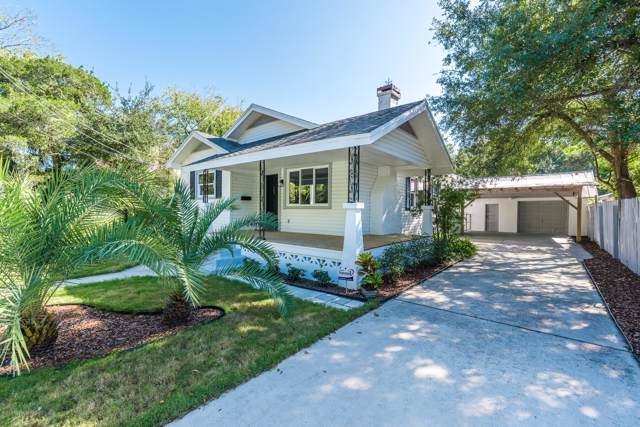12 Poinciana Ave, St Augustine, FL 32084 (MLS #1026793) :: Memory Hopkins Real Estate