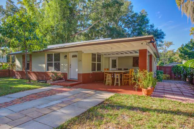 34 Martin Luther King Ave, St Augustine, FL 32084 (MLS #1028011) :: Memory Hopkins Real Estate