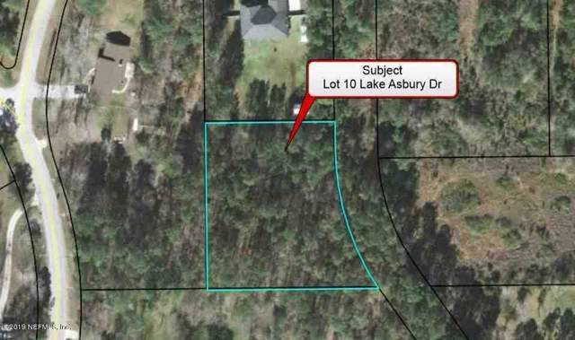 LOT 10 Lake Asbury Dr, GREEN COVE SPRINGS, FL 32043 (MLS #1030994) :: Berkshire Hathaway HomeServices Chaplin Williams Realty