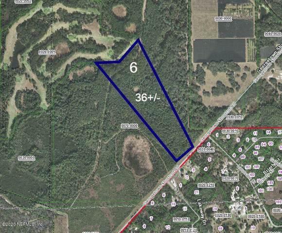 221- LOT 6 Georgetown Shortcut Rd, Crescent City, FL 32112 (MLS #1035669) :: Noah Bailey Group