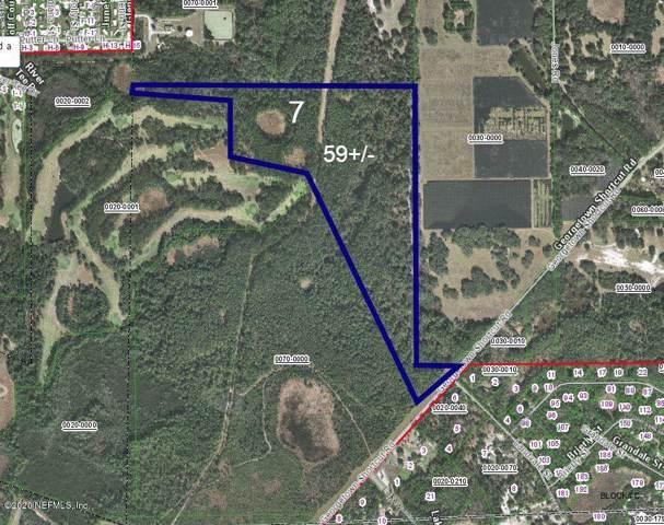 221- LOT 7 Georgetown Shortcut Rd, Crescent City, FL 32112 (MLS #1035689) :: 97Park