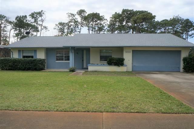 503 Sevilla Dr, St Augustine, FL 32086 (MLS #1037639) :: Memory Hopkins Real Estate