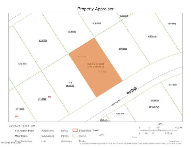 116 Sevilla St, East Palatka, FL 32131 (MLS #1039327) :: EXIT Real Estate Gallery