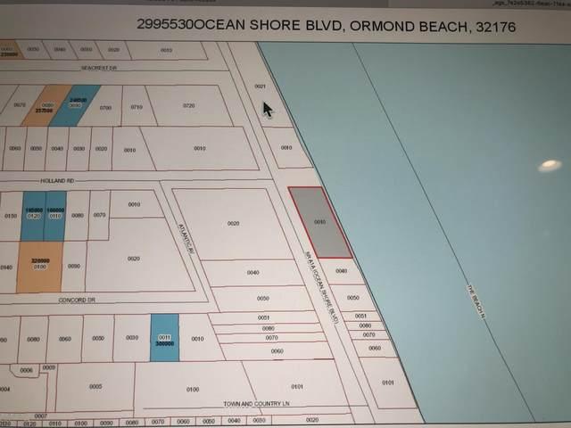 0 Ocean Shore Blvd, Ormond Beach, FL 32176 (MLS #1045539) :: The Hanley Home Team